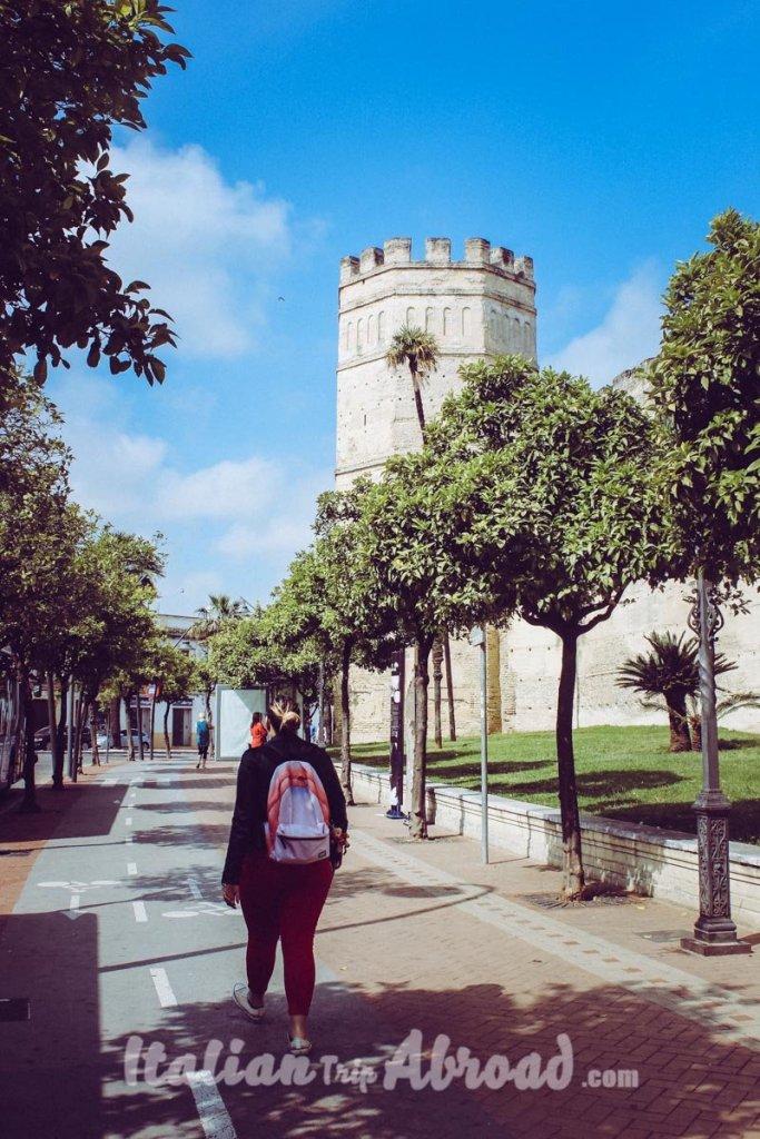 Jerez de la frontera travel couple italian trip abroad