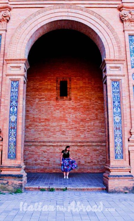 Plaza de Espana Sevilla the most beautiful square in the world