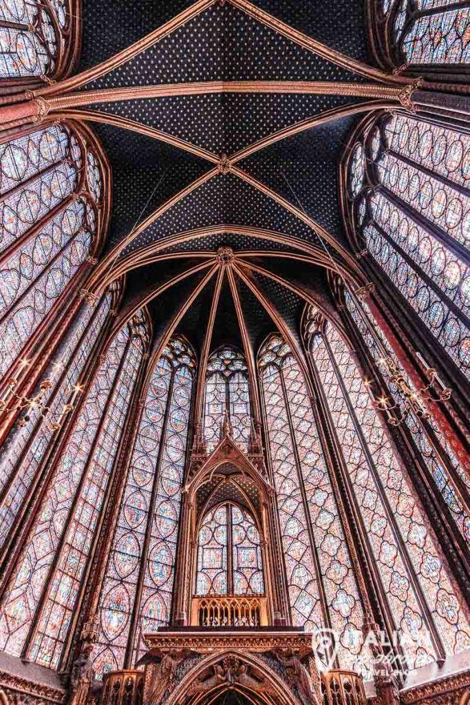 Saint Chapele Paris - itinerary of paris