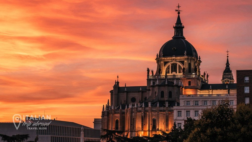 Madrid instagrammable spots at sunset - Photos of Madrid at Sunset