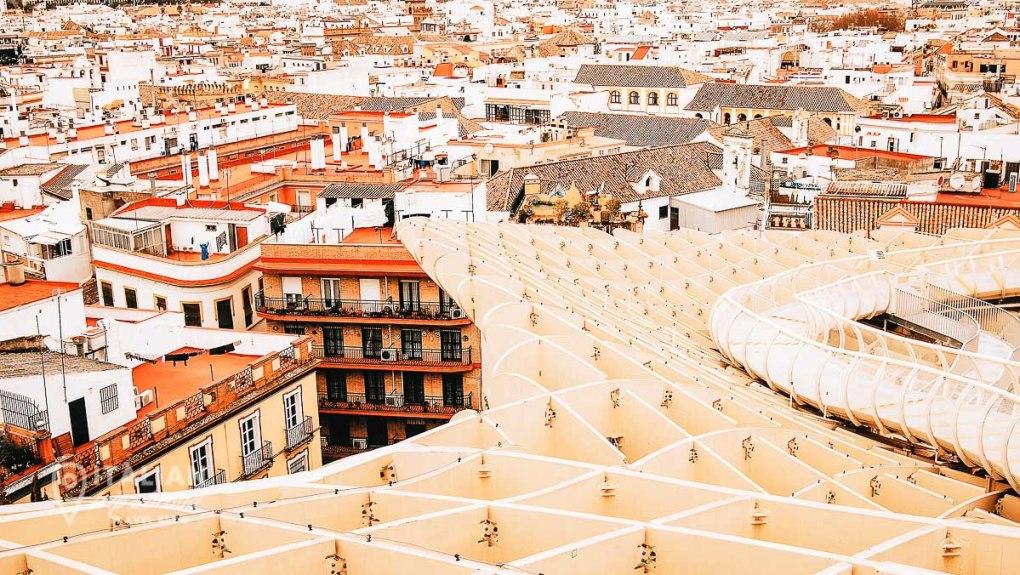 Metropol Parasol of Sevilla - Day Trips from Malaga