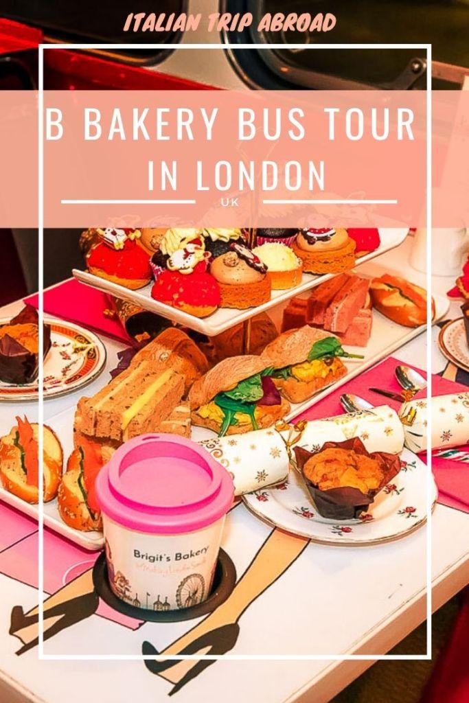 B Bakery afternoon tea in London