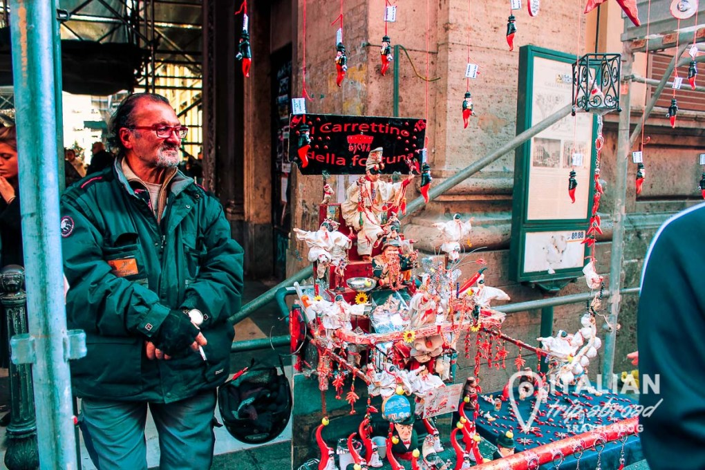 San Gregorio Armeno is the street of the art in Naples