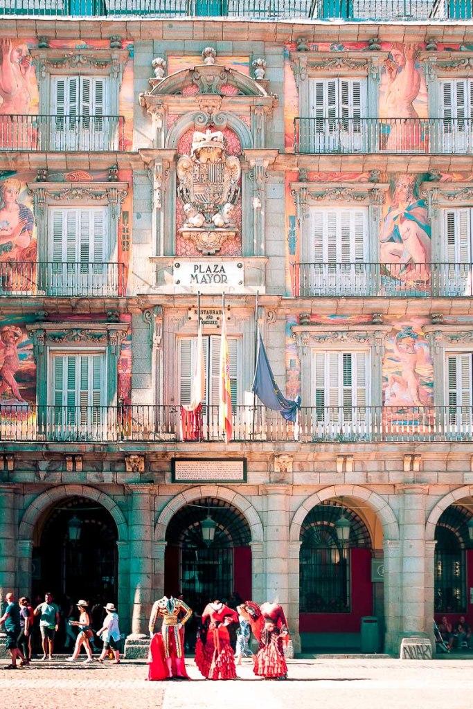 Main square of Madrid - Plaza Mayor