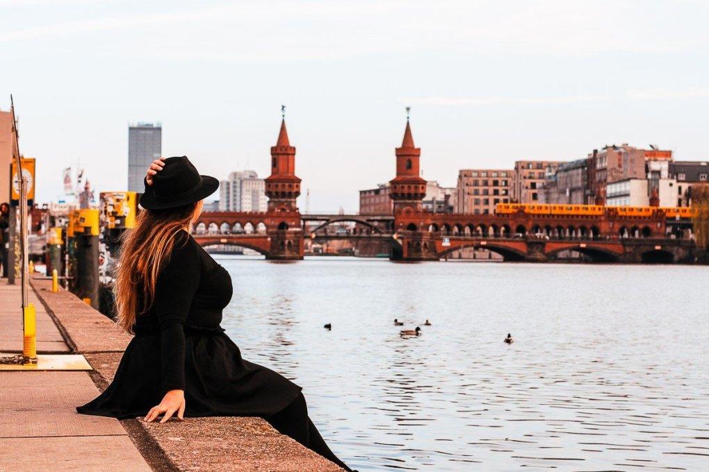 Berlin Wall riverside