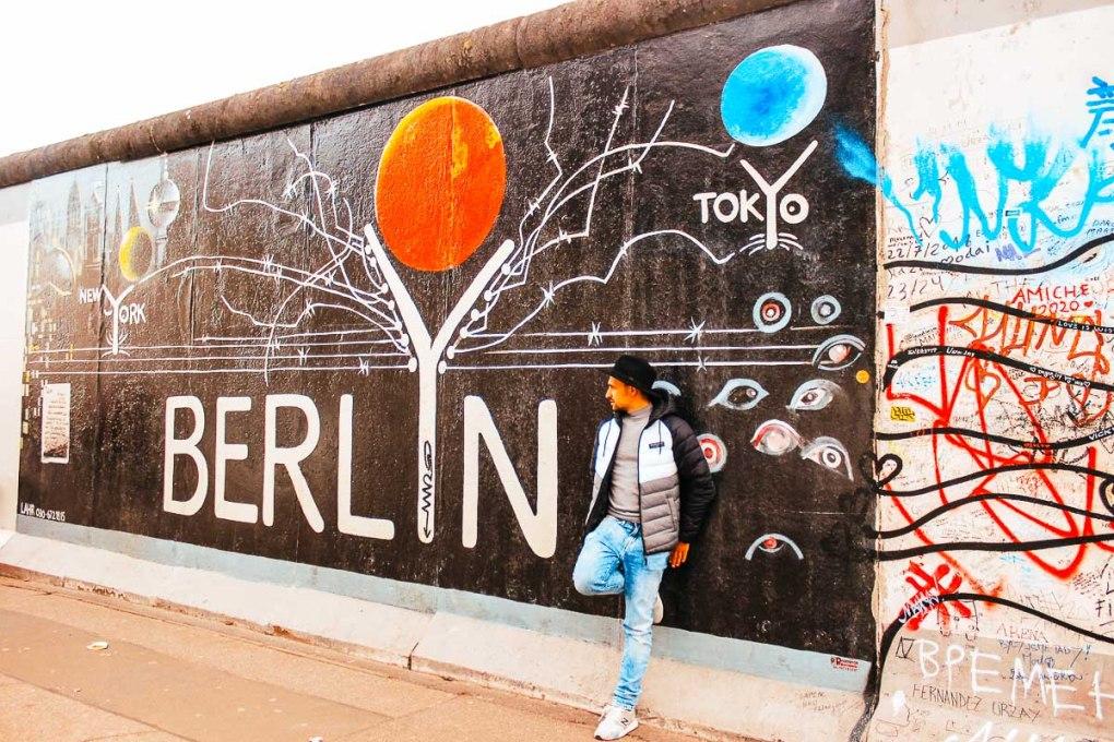 Berlin in 2 days - East Side Gallery in Berlin street art