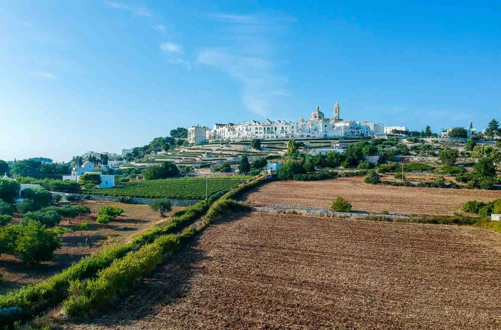 Puglia itinerary 7 days | Locorotondo views