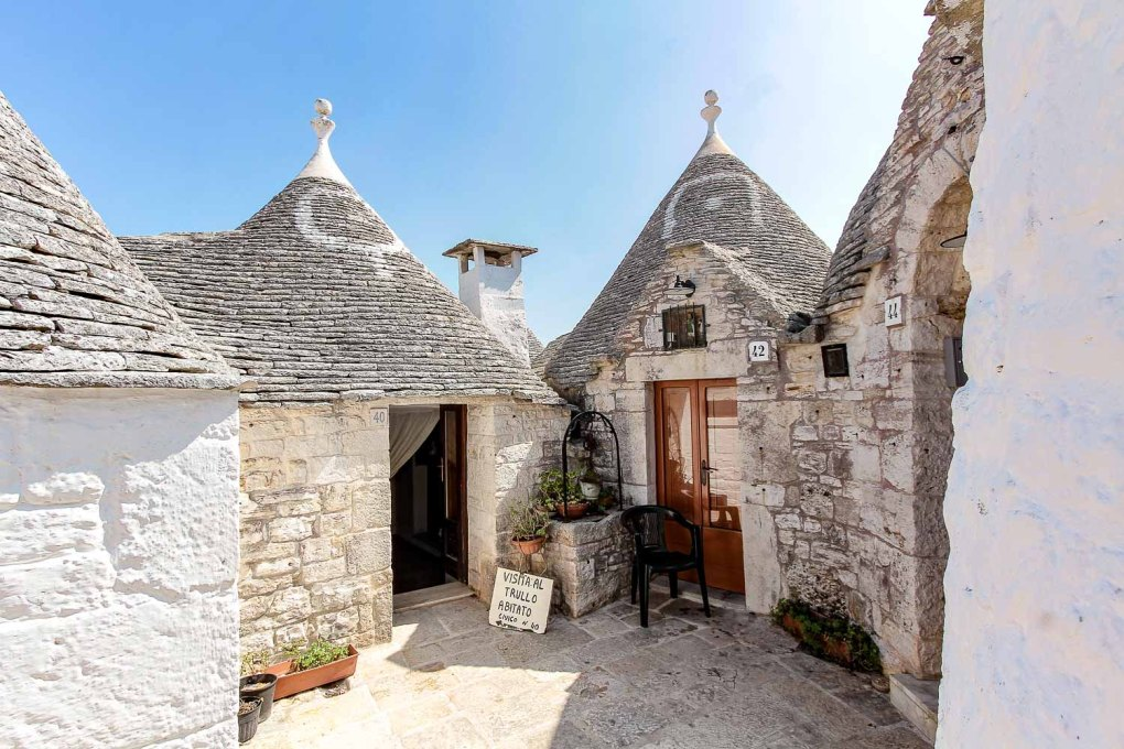 Visit the Trullo Abitato of Alberobello - Discover how is the life inside a Trullo