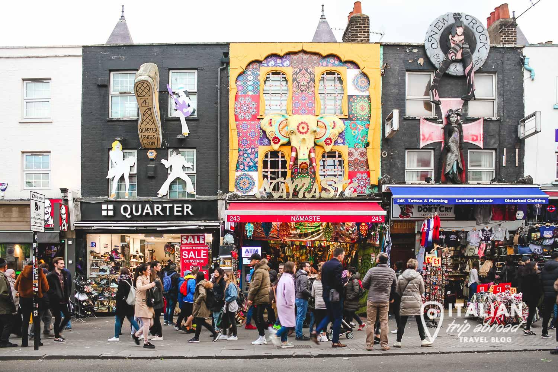 Camden Town markets - Best souvenirs from London