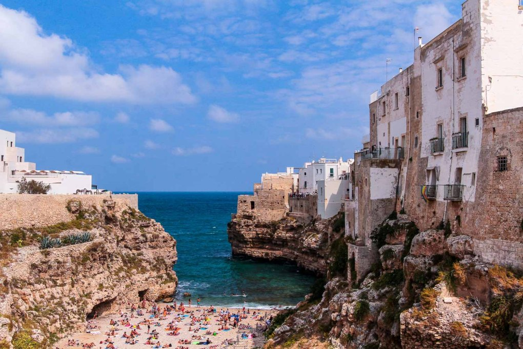 View from Ponte Borbonico - Top things to do in Polignano a Mare