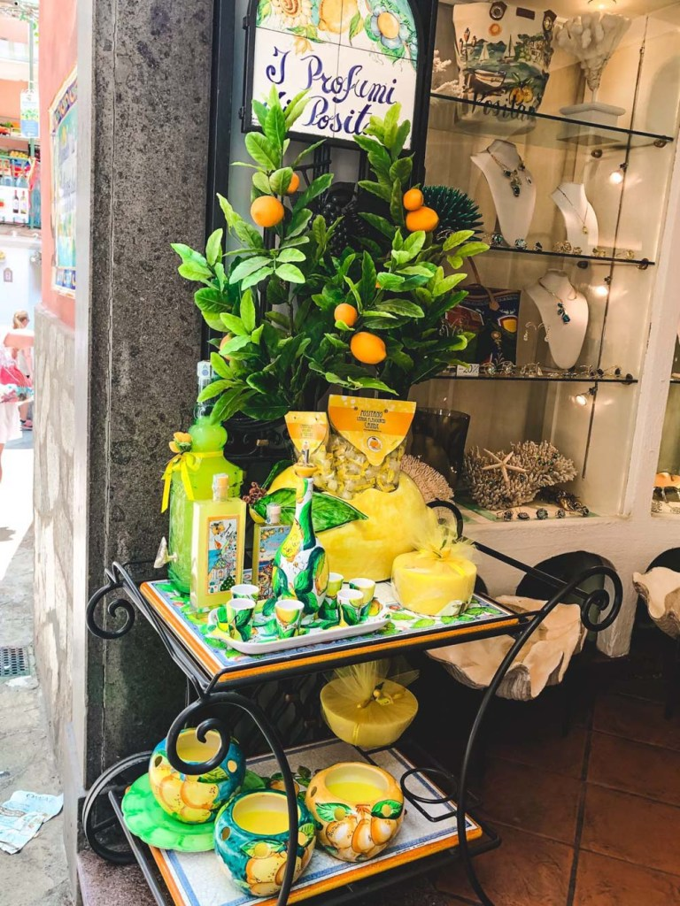 Limoncello from Positano