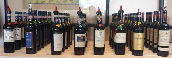 Gran Selezione bottles