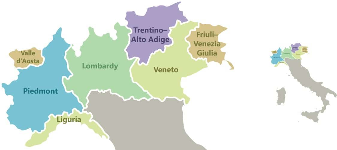 Image result for The north-eastern Veneto region alps