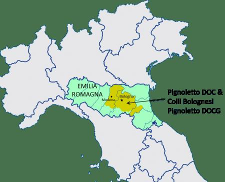 Pignoletto DOPs