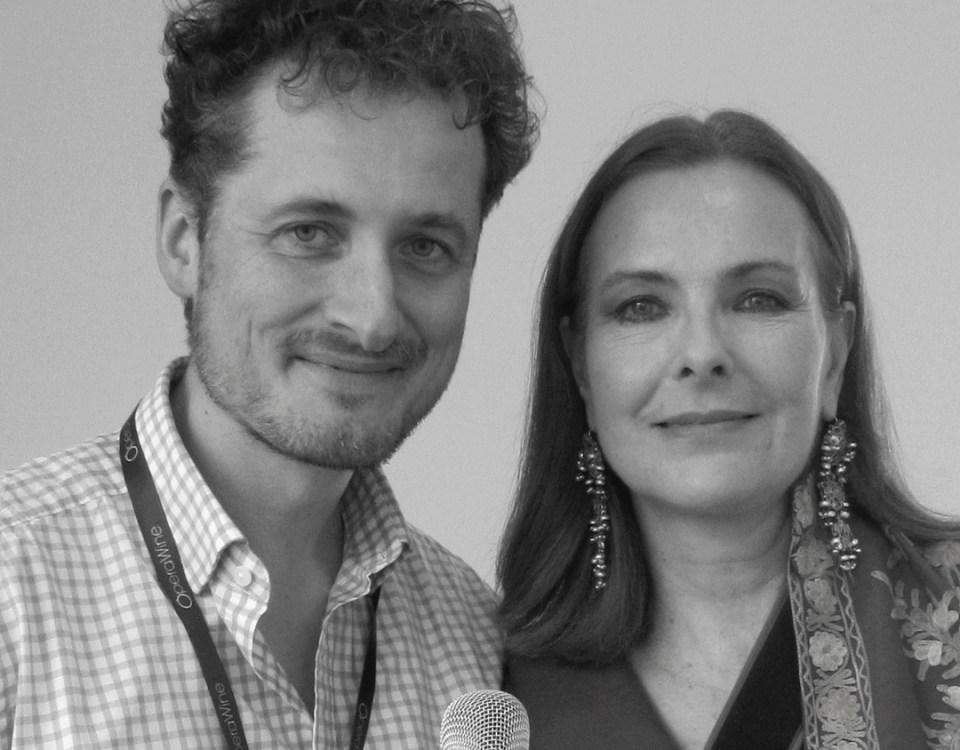Carole Bouquet and Monty Waldin