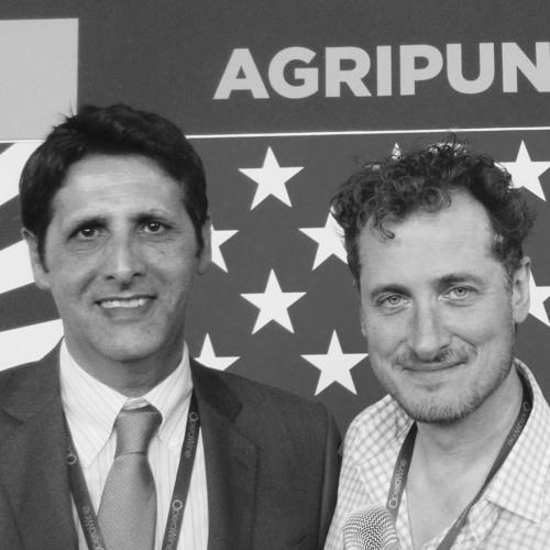 Salvatore Santus, AgriPunica, with Monty Waldin