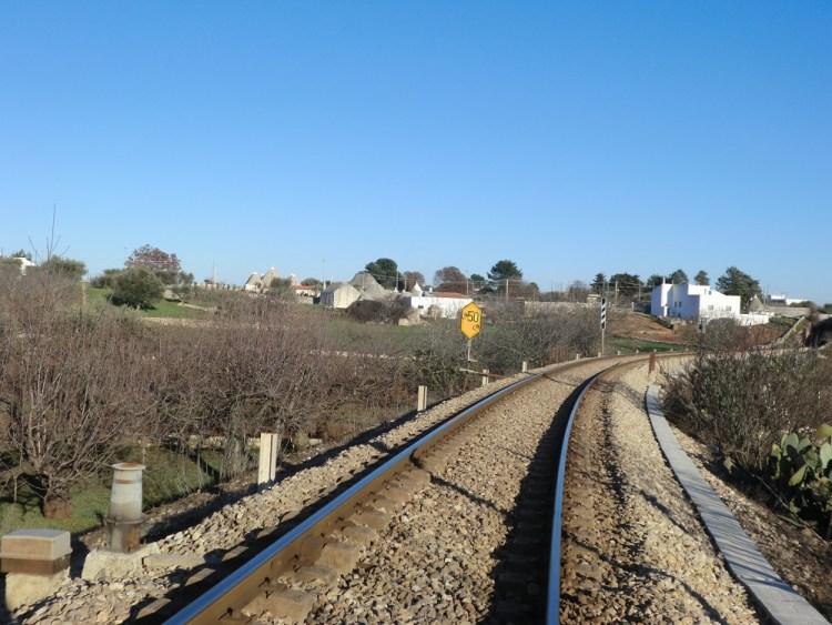 イタリアの線路
