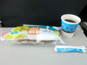 オランダ航空の軽食