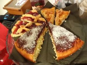 イタリアの手作りケーキ