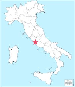 ローマの場所