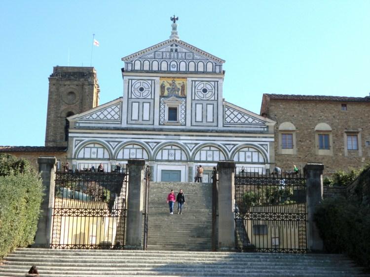 フィレンツェ サン・ミニアート・アル・モンテ教会