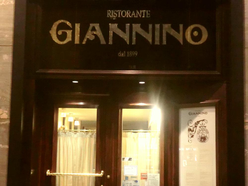 ミラノのレストラン