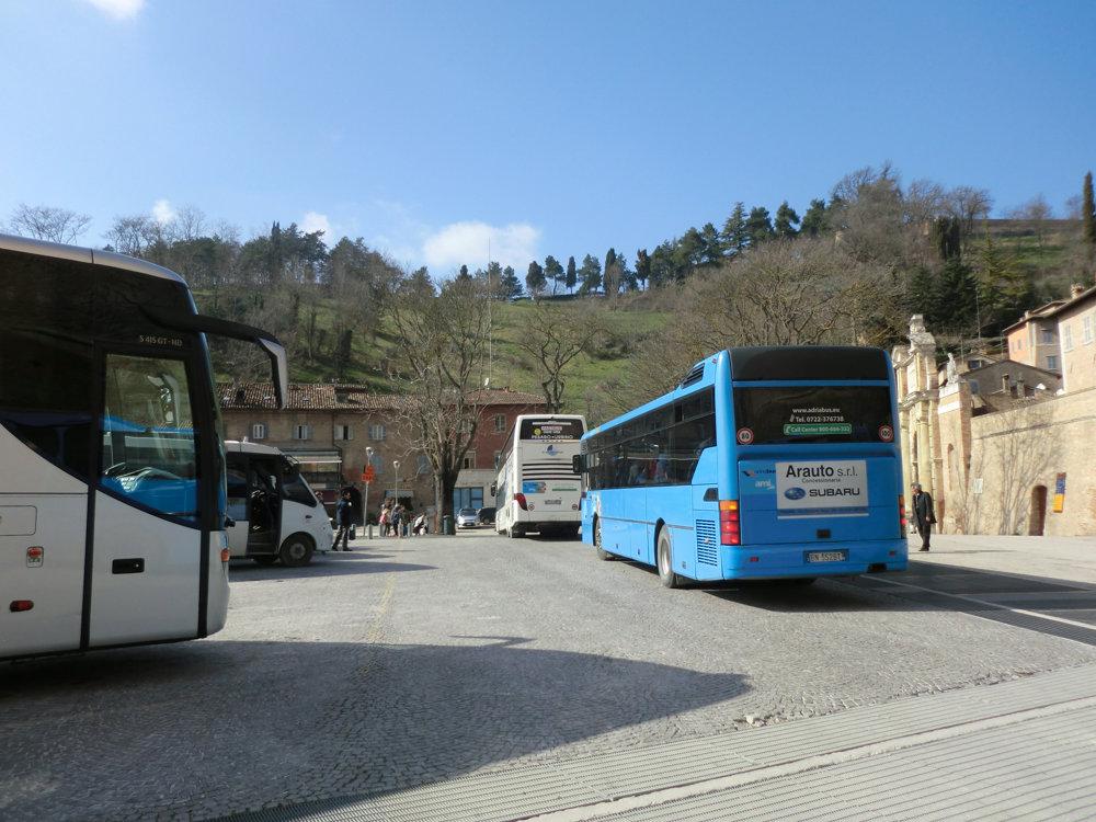 イタリアのバス