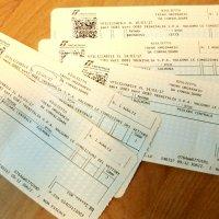 イタリアの鉄道切符