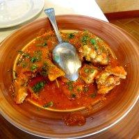 カスティリオーネ・デル・ラーゴの魚スープ
