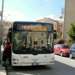 モンレアーレ行きASTのバス