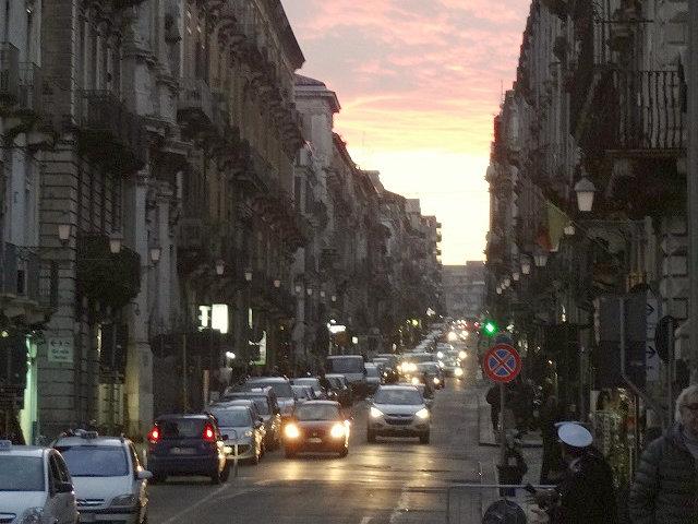 カターニアの通り