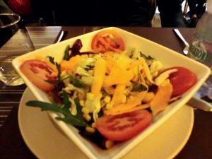 イタリアの野菜サラダ