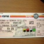 ASローマのチケット