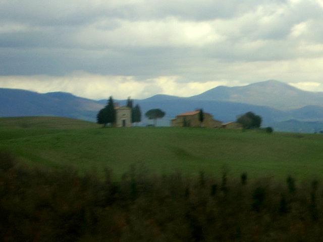 オルチャ渓谷のヴィタレータ礼拝堂