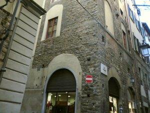 フィレンツェのドゥオモ南側