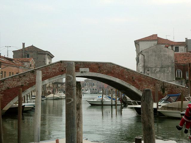 ムラーノ島の運河
