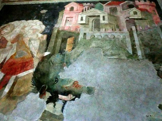 ボルツァーノのドゥオモ内フレスコ画