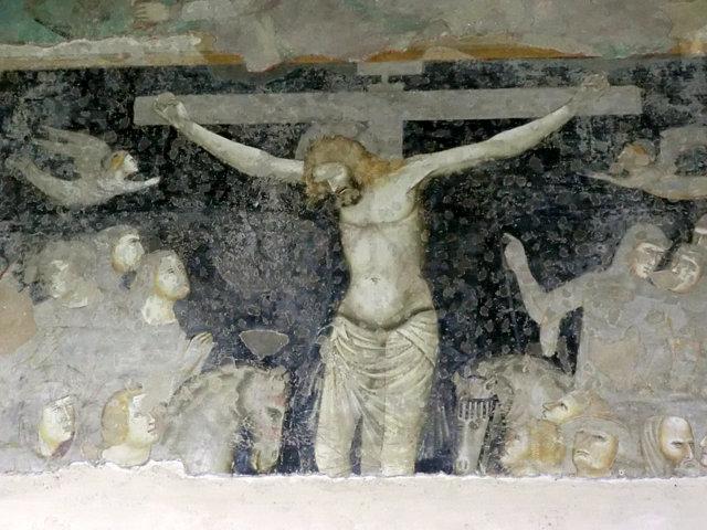 フランチェスカーニ教会の回廊