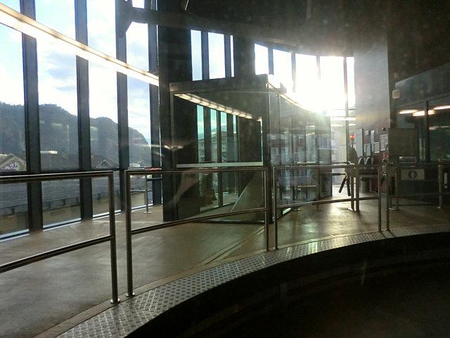 ボルツァーノのロープウェイ乗り場