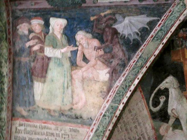 ブレッサノーネ回廊フレスコ画