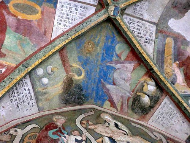 ブレッサノーネドゥオモ付属回廊フレスコ画