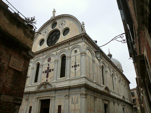 ヴェネツィアのミラーコリ教会
