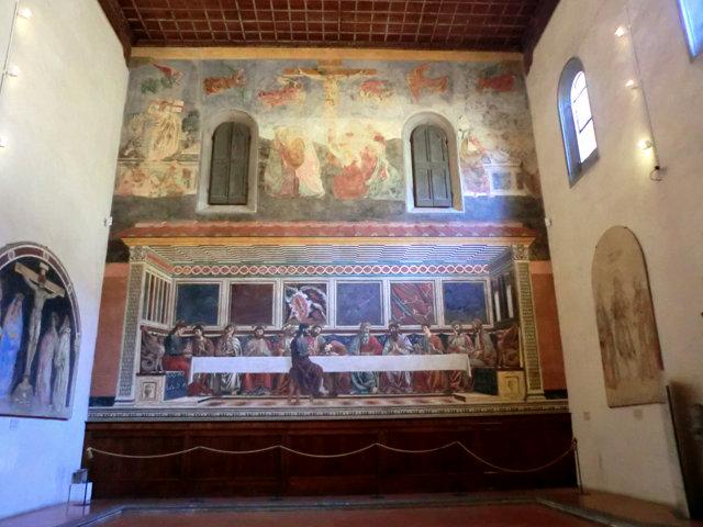 旧サンタポッローニア修道院の『最後の晩餐』