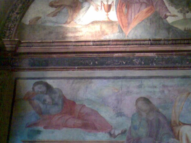 聖マウリツィオ教会 フレスコ画