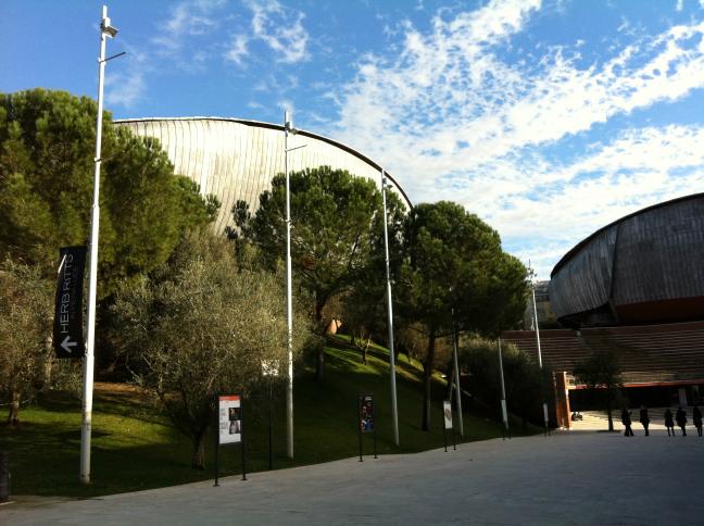 レンゾ・ピアノのローマ パルコ・デッラ・ムージカ音楽公園