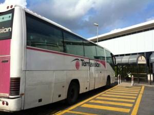チャンピーノ空港 シャトルバス