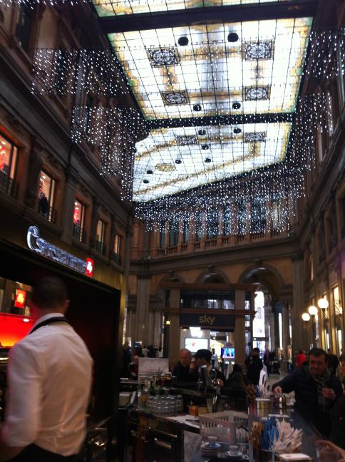 ローマのショッピングセンター