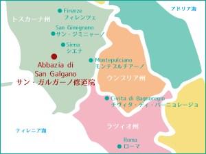 to-san-galgano-map