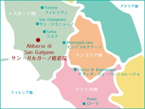 to-san-galgano-map