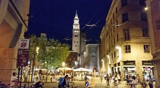 Der Donnerstag im Sommer in Cremona